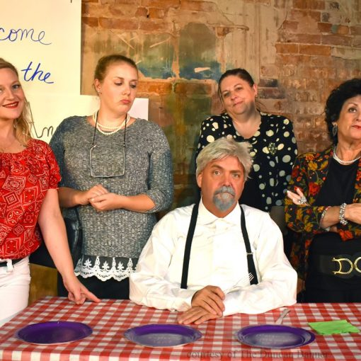 Cast photo for DLT